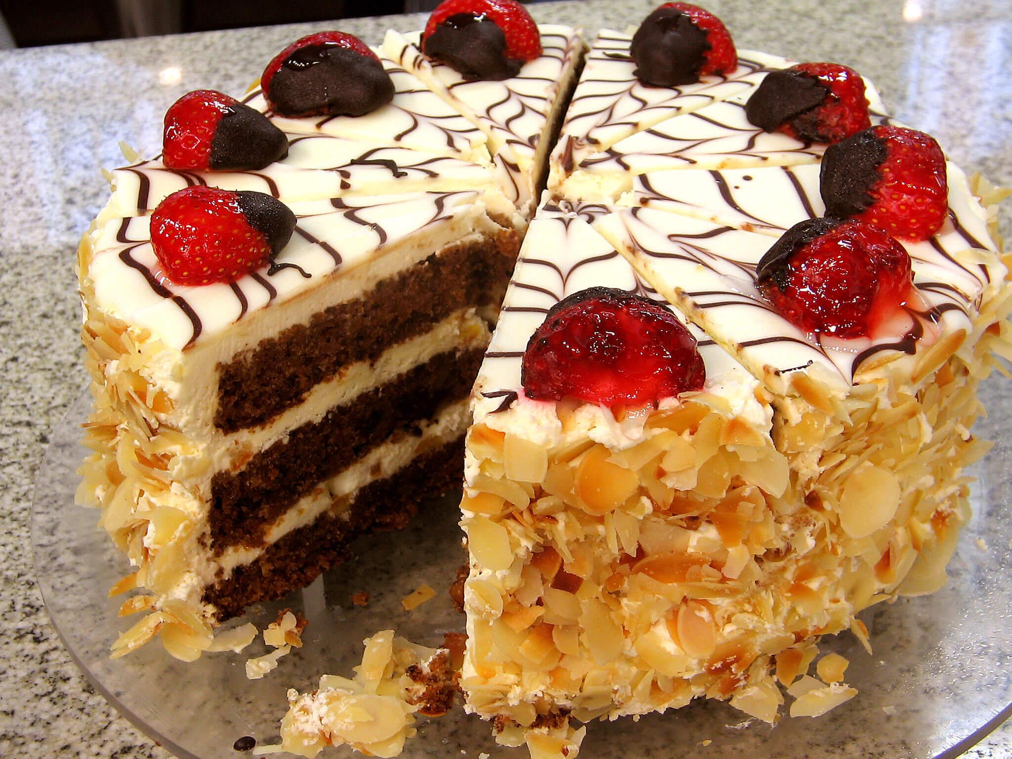 Творожный торт для кормящей мамы