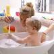 Купание малыша: основные правила проведения водных процедур