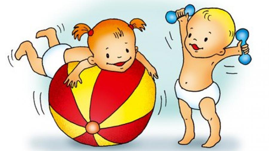 Режим дня ребенка до трех лет