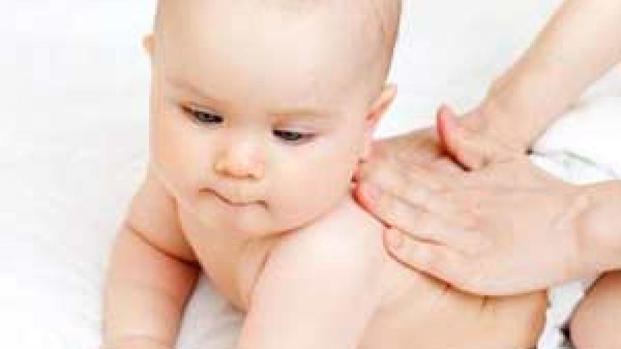 Развивающий массаж для ребенка в 3 месяца