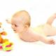Физическое развитие ребенка в 4 месяца при помощи гимнастики