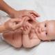 Физическое развитие ребенка в 5 месяцев при помощи массажа
