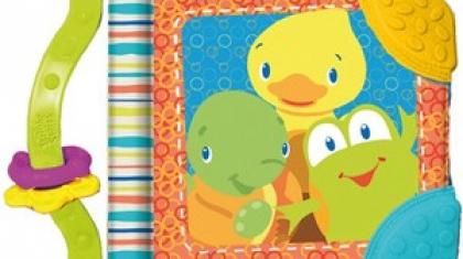 Первые книги для ребенка 7 месяцев