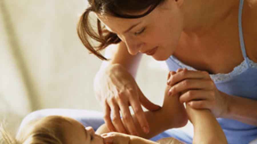 Физическое развитие ребенка в 7 месяцев при помощи гимнастики