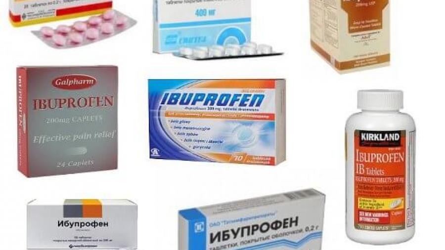 Ибупрофен при грудном вскармливании